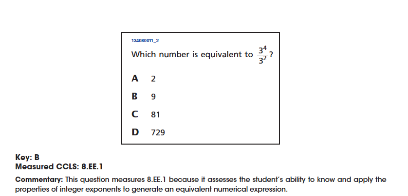 Failure The 8th Grade Nys Common Core Math Test Granted And